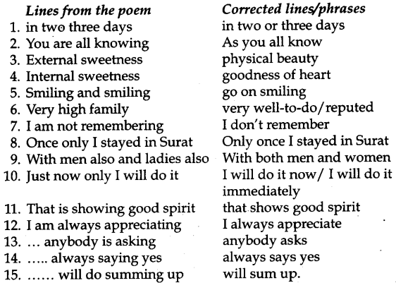 KSEEB Solutions for Class 9 English Poem Chapter 9 Goodbye Party for Miss Pushpa T.S. 2