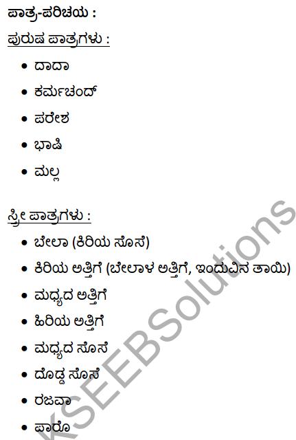 सूखी डाली Summary in Kannada 1