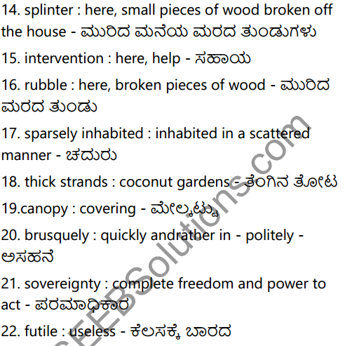 The Town by the Sea Summary in Kannada 5