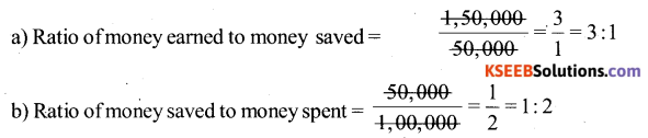 KSEEB Solutions for Class 6 Maths Chapter 12 Ratio and Proportion Ex 12.1 60