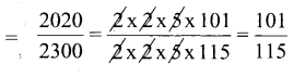 KSEEB Solutions for Class 6 Maths Chapter 12 Ratio and Proportion Ex 12.1 64