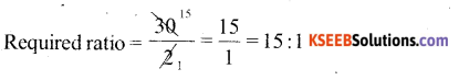 KSEEB Solutions for Class 6 Maths Chapter 12 Ratio and Proportion Ex 12.1 761