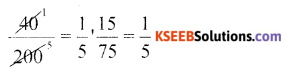 KSEEB Solutions for Class 6 Maths Chapter 12 Ratio and Proportion Ex 12.2 40