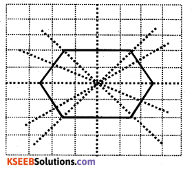 KSEEB Solutions for Class 6 Maths Chapter 13 Symmetry Ex 13.2 15