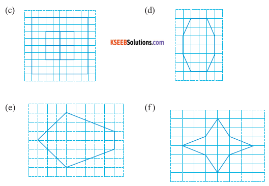 KSEEB Solutions for Class 6 Maths Chapter 13 Symmetry Ex 13.2 17