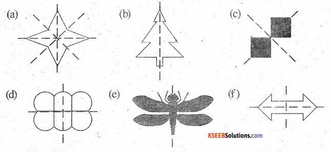 KSEEB Solutions for Class 6 Maths Chapter 13 Symmetry Ex 13.3 252
