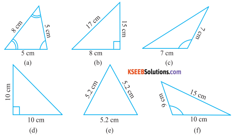 KSEEB Solutions for Class 6 Maths Chapter 5 Understanding Elementary Shapes Ex 5.6 1