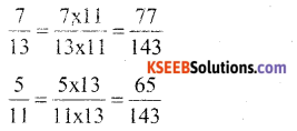 KSEEB Solutions for Class 6 Maths Chapter 7 Fractions Ex 7.3 26