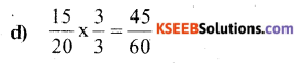 KSEEB Solutions for Class 6 Maths Chapter 7 Fractions Ex 7.3 6