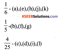 KSEEB Solutions for Class 6 Maths Chapter 7 Fractions Ex 7.4 63