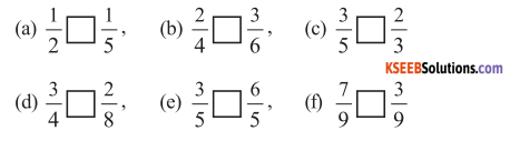 KSEEB Solutions for Class 6 Maths Chapter 7 Fractions Ex 7.4 662