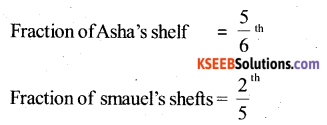 KSEEB Solutions for Class 6 Maths Chapter 7 Fractions Ex 7.6 38