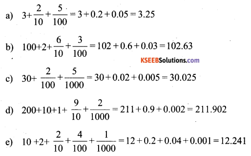KSEEB Solutions for Class 6 Maths Chapter 8 Decimals Ex 8.2 74
