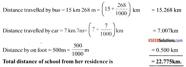 KSEEB Solutions for Class 6 Maths Chapter 8 Decimals Ex 8.5 21