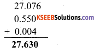 KSEEB Solutions for Class 6 Maths Chapter 8 Decimals Ex 8.5 3