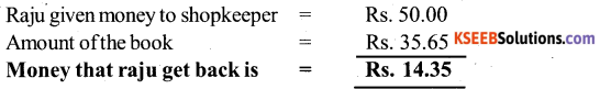 KSEEB Solutions for Class 6 Maths Chapter 8 Decimals Ex 8.6 10