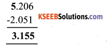KSEEB Solutions for Class 6 Maths Chapter 8 Decimals Ex 8.6 4