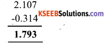 KSEEB Solutions for Class 6 Maths Chapter 8 Decimals Ex 8.6 5