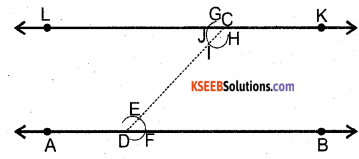 KSEEB Solutions for Class 7 Maths Chapter 10 Practical Geometry Ex 10.1 1