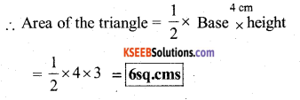 KSEEB Solutions for Class 7 Maths Chapter 11 Perimeter and Area Ex 11.2 56