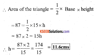 KSEEB Solutions for Class 7 Maths Chapter 11 Perimeter and Area Ex 11.2 68