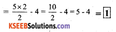 KSEEB Solutions for Class 7 Maths Chapter 12 Algebraic Expressions Ex 12.3 2
