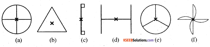 KSEEB Solutions for Class 7 Maths Chapter 14 Symmetry Ex 14.2 1