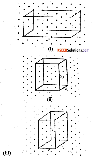 KSEEB Solutions for Class 7 Maths Chapter 15 Visualising Solid Shapes Ex 15.2 3