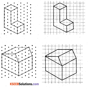 KSEEB Solutions for Class 7 Maths Chapter 15 Visualising Solid Shapes Ex 15.2 5