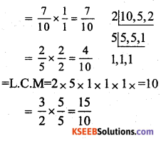 KSEEB Solutions for Class 7 Maths Chapter 2 Fractions and Decimals Ex 2.1 13