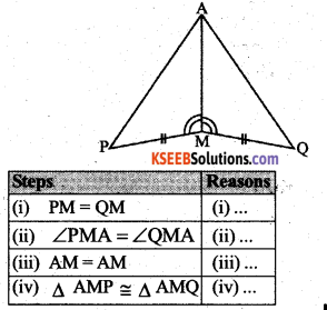 KSEEB Solutions for Class 7 Maths Chapter 7 Congruence of Triangles Ex 7.2 7