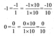KSEEB Solutions for Class 7 Maths Chapter 9 Rational Numbers Ex 9.1 1