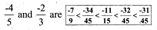 KSEEB Solutions for Class 7 Maths Chapter 9 Rational Numbers Ex 9.1 10
