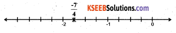 KSEEB Solutions for Class 7 Maths Chapter 9 Rational Numbers Ex 9.1 33