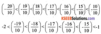 KSEEB Solutions for Class 7 Maths Chapter 9 Rational Numbers Ex 9.1 5