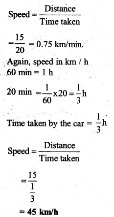 KSEEB Solutions for Class 7 Science Chapter 13 Motion and Time 10