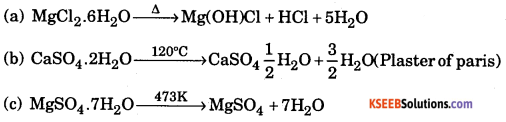 1st PUC Chemistry Model Question Paper 1 with Answers 13