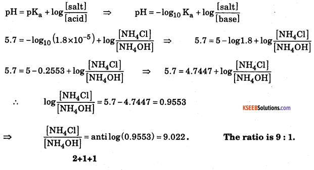 1st PUC Chemistry Model Question Paper 1 with Answers 5
