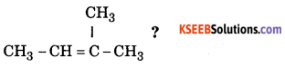 1st PUC Chemistry Model Question Paper 2 with Answers 1
