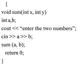 1st PUC Computer Science Question Bank Chapter 13 User Defined Functions 3