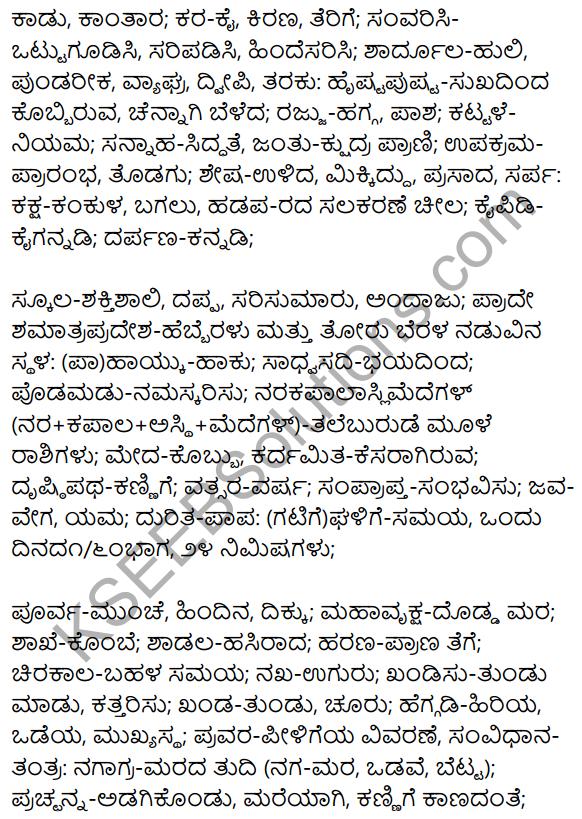 1st PUC Kannada Textbook Answers Sahitya Sanchalana Chapter 24 Chaturana Chaturya image - 24