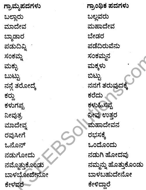 1st PUC Kannada Textbook Answers Sahitya Sanchalana Chapter 6 Shishu Makkaligolida Madeva 16