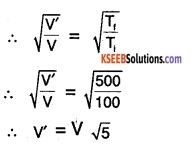 1st PUC Physics Question Bank Chapter 13 Kinetic Theory img 3