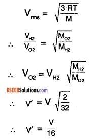 1st PUC Physics Question Bank Chapter 13 Kinetic Theory img 4