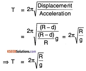 1st PUC Physics Question Bank Chapter 14 Oscillations img 56