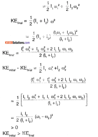 1st PUC Physics Question Bank Chapter 7 System of Particles and Rotational Motion img 30