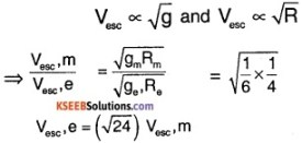 1st PUC Physics Question Bank Chapter 8 Gravitation img 22