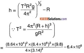 1st PUC Physics Question Bank Chapter 8 Gravitation img 30