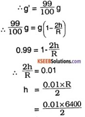 1st PUC Physics Question Bank Chapter 8 Gravitation img 36
