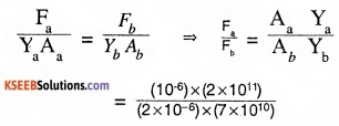 1st PUC Physics Question Bank Chapter 9 Mechanical Properties of Solids img 14